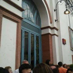 Photo taken at Teatro Gutiérrez de Alba by Iván G. on 5/19/2012