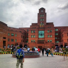 Photo taken at University of Central Punjab by Haris N. on 4/24/2012