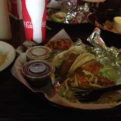 Photo taken at Bodegas Taco Shop by Jacqueline L. on 4/14/2012