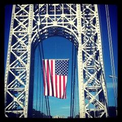 Photo taken at George Washington Bridge by Paul B. on 9/11/2012