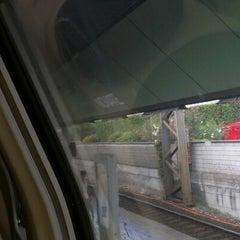 Photo taken at Stazione Novate Milanese by Edoardo U. on 8/28/2012