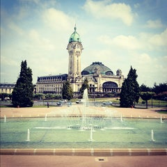 Photo taken at Gare SNCF de Limoges-Bénédictins by Alaa M. on 5/31/2012
