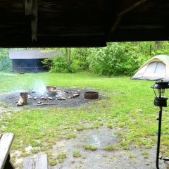 Photo taken at Cricket Holler Scout Camp by Steven R. on 4/28/2012