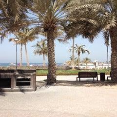 Photo taken at Al Mamzar Park (حديقة الممزر) by Mohammad G. on 9/7/2012