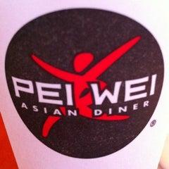 Photo taken at Pei Wei by Blake B. on 6/17/2012