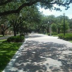 Photo taken at Military Walk by Linda C. on 7/26/2012