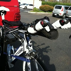 Photo taken at Newbury Park Bike Shop by Rebecca on 2/18/2012