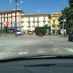 Photo taken at Piazza Libertà by Mauro N. on 4/27/2012
