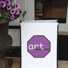 Photo taken at ART ABOUT TOWN Westport 2012 by Westport Downtown M. on 5/24/2012