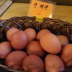 Photo taken at 맛있는 순두부&김치찜 경성대점 by Robert A. on 8/12/2012