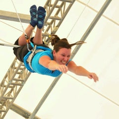 Photo taken at Trapeze School New York (TSNY) - Washington DC by Becky W. on 7/30/2012