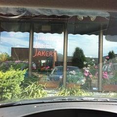 Photo taken at Burlington Bagel Bakery & Cafe by sean h. on 7/16/2011