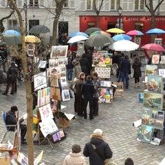 Photo taken at Montmartre by Jan K. on 12/26/2011