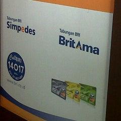 Photo taken at Bank BRI by Sari M. on 1/24/2012