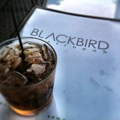 Photo taken at Blackbird Gastropub by Ryan D. on 5/8/2011
