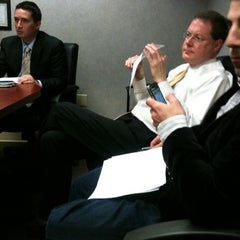 Photo taken at WRCB-TV 3 Meeting Room by ANTWAN H. on 12/23/2010