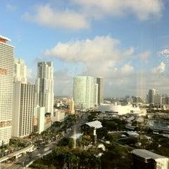 Photo taken at InterContinental Miami by Arturo G. on 3/22/2012