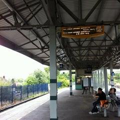 Photo taken at Epsom Railway Station (EPS) by Sarah E. on 9/6/2011