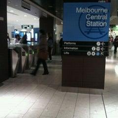 Photo taken at Melbourne Central Station by James J. on 10/13/2011