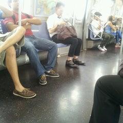 Photo taken at MTA Subway - M Train by sarah s. on 9/6/2012