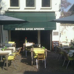 Photo taken at Bistro Opoe Spronk by Maarten P. on 4/20/2011