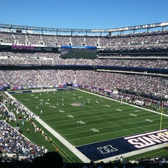 Photo taken at Verizon Corner Suite - MetLife Stadium by Moses A. on 11/4/2011