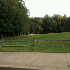 Photo taken at Nottoway Park by Janet C. on 10/4/2011