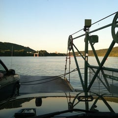 Photo taken at Anderson Ferry by Michael S. on 8/12/2011
