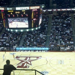 Photo taken at Reed Arena by Andrew S. on 2/7/2012
