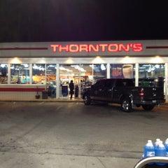 Photo taken at Thornton's by Jake P. on 1/6/2012