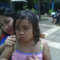 Photo taken at Kolam Renang by Puji T. on 10/23/2011