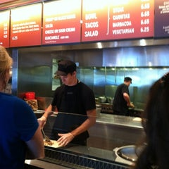Photo taken at Chipotle Mexican Grill by Mary M. on 5/18/2012
