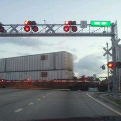 Photo taken at Railroad Tracks At Monterey by Christina P. on 5/3/2012