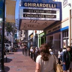 Photo taken at Ghirardelli Ice Cream & Chocolate Shop by David H. on 5/29/2012