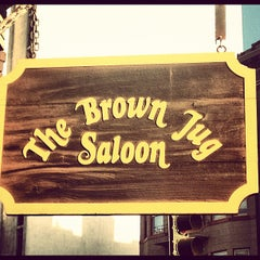 Photo taken at The Brown Jug Saloon by David L. on 3/5/2012
