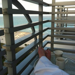 Photo taken at Loews Miami Beach Hotel by Ana R. on 2/27/2012