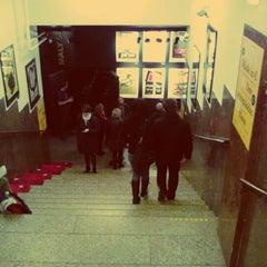 Photo taken at Kino Světozor by Keith M. on 4/12/2012