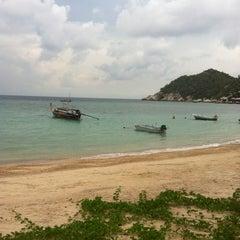 Photo taken at Haad Tien Beach Resort by Feez M. on 4/6/2012