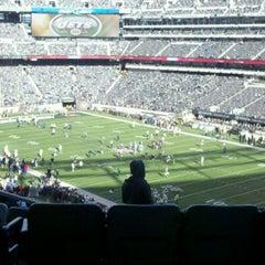 Photo taken at Verizon Corner Suite - MetLife Stadium by Jimmy D. on 12/24/2011