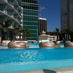 Photo taken at Epic Rooftop Pool by Abel L. on 1/31/2011
