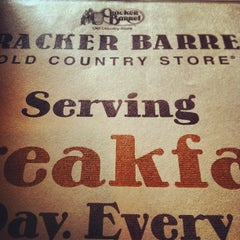 Photo taken at Cracker Barrel Old Country Store by Christina M. on 2/16/2012