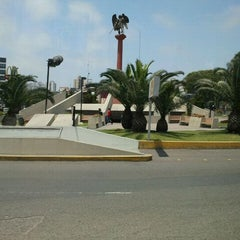 Photo taken at Óvalo Gutiérrez by Luis H. on 11/30/2011