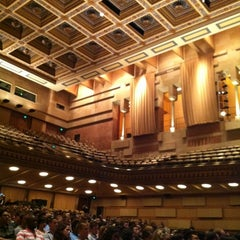 Photo taken at UCLA Royce Hall by Galia E. on 8/17/2012