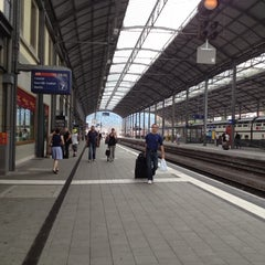 Photo taken at Bahnhof Olten by Nicolas B. on 6/19/2012