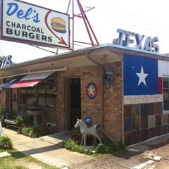Photo taken at Del's Charcoal Burgers by David S. on 6/6/2012