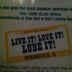 Photo taken at Quaker Steak & Lube® by Christina T. on 10/28/2011
