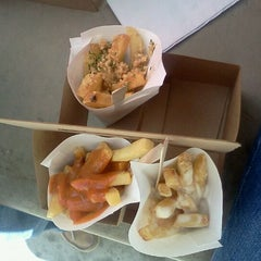 Photo taken at French Fry Heaven by Kristina K. on 1/26/2012