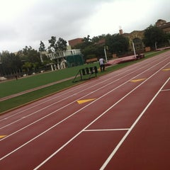 Photo taken at Cromwell Field & Loker Track Stadium by Jeanette Z. on 1/21/2012