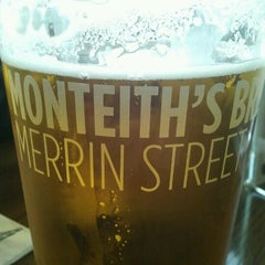 Photo taken at Monteiths Brewery Bar by Craig v. on 8/2/2012
