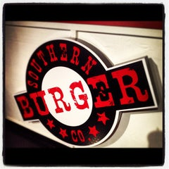 Photo taken at Southern Burger Company @ Warehouse Row by Ryan P. on 8/8/2012